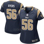 Maglia NFL Game Donna Los Angles Rams Ayers Nero