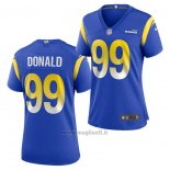 Maglia NFL Game Donna Los Angles Rams Aaron Donald Blu