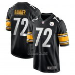 Maglia NFL Game Pittsburgh Steelers Zach Banner Nero