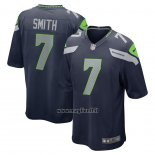Maglia NFL Game Seattle Seahawks Geno Smith Blu