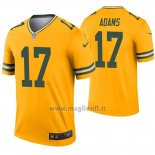 Maglia NFL Legend Green Bay Packers 17 Davante Adams Inverted Or
