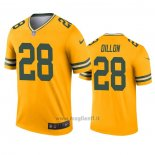 Maglia NFL Legend Green Bay Packers A.j. Dillon Inverted Or
