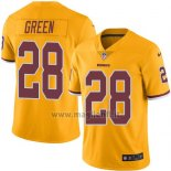 Maglia NFL Legend Washington Redskins Green Giallo