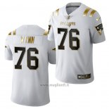 Maglia NFL Limited New England Patriots Isaiah Wynn Golden Edition 2020 Bianco