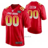 Maglia NFL Pro Bowl New York Jets Personalizzate Rosso